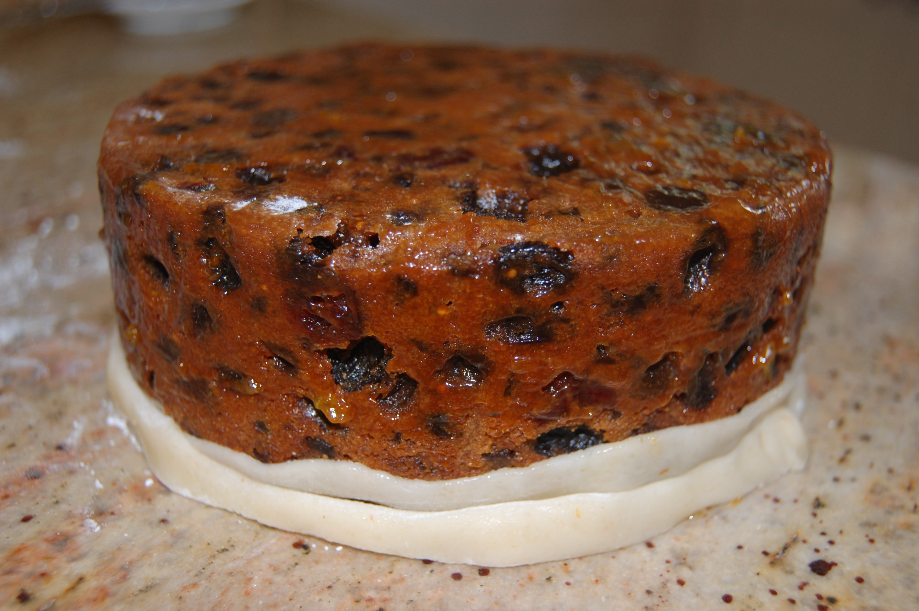 How to make christmas cake - The